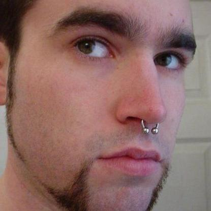 Nose Piercing On Guys